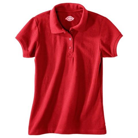 Dickies® Girls' Pique Polo