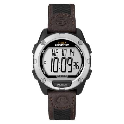 Timex® Men's Expedition Digital Watch - Brown