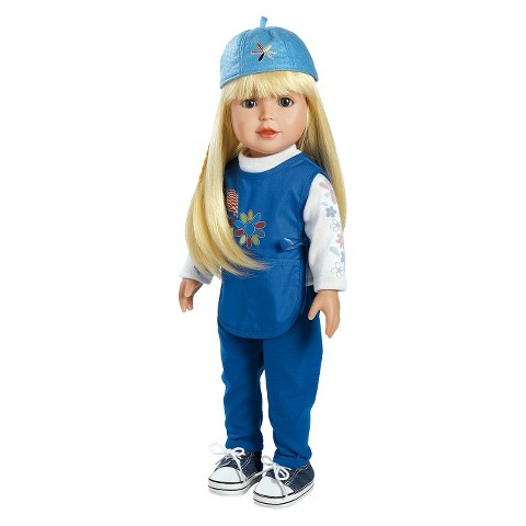 "Adora Play Doll Alyssa - Girl Scout Daisy 18"" Doll & Costume"