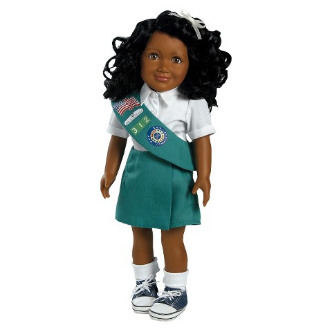 "Adora Play Doll Kayla - Girl Scout Jr. 18"" Doll & Costume"