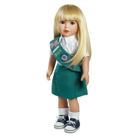 "Adora Play Doll Alyssa - Girl Scout Jr. 18"" Doll & Costume"