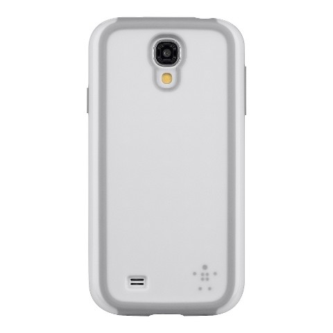 Belkin Grip Max Cell Phone Case for Samsung Galaxy S4 - White (F8M697btC0)