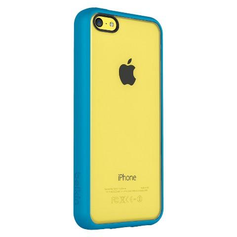 Belkin View Case for iPhone 5c - Topaz/Yellow (F8W372btC1)