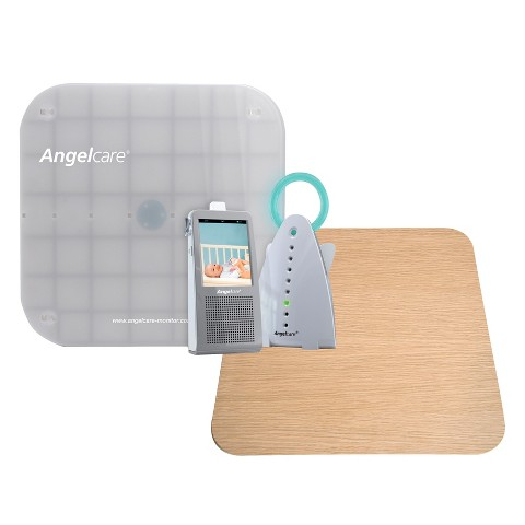 Angelcare AC1100 Video, Movement and Sound Monitor with Wood Support Board