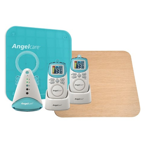 Angelcare AC401-2P Deluxe Movement & Sound Monitor with Wood Support Board