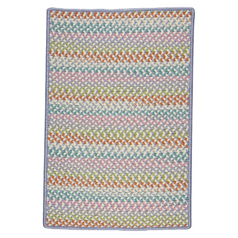 Color Craze 3 x5 Braided Indoor Outdoor Rug Tar