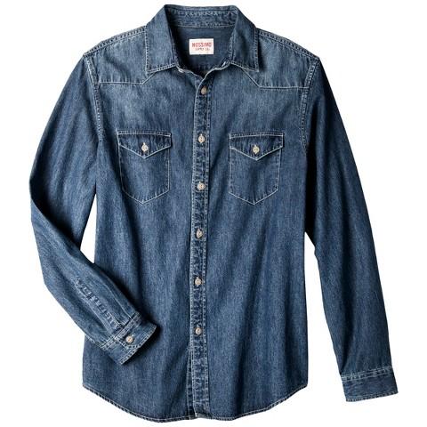 Mossimo Supply Co. Men's Denim Shirt