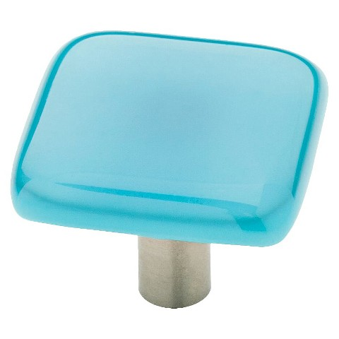 Liberty Hardware Glass Knob - Turquoise