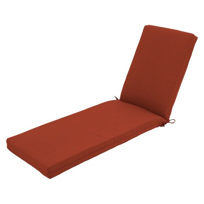 Threshold™ Heatherstone Outdoor Replacement Chaise Lounge Cushion - Orange