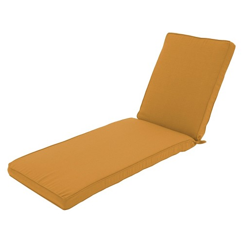 Threshold Belvedere Outdoor Replacement Patio Chaise Lounge Cushion Ebay