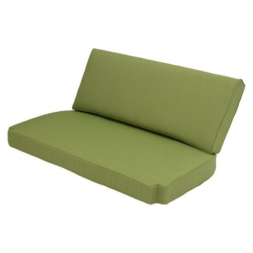 smith hawken brooks island 2 piece outdoor replacement loveseat cushion set ebay. Black Bedroom Furniture Sets. Home Design Ideas