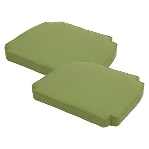 Smith Hawken Brooks Island 2 Piece Outdoor Replacement Arm Chair Cushion Set Ebay