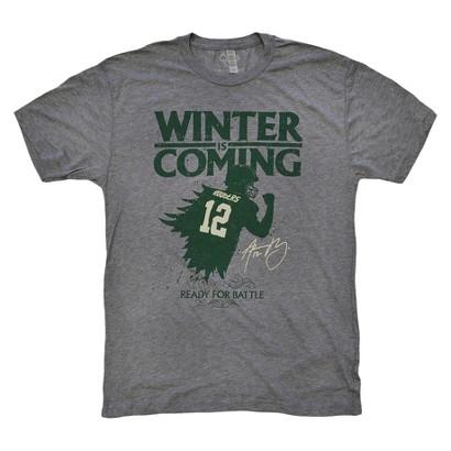 Aaron Rodgers Winter Is Coming Men's T-shirt