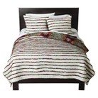 Print Merida Ruched Quilt Bedding Collection