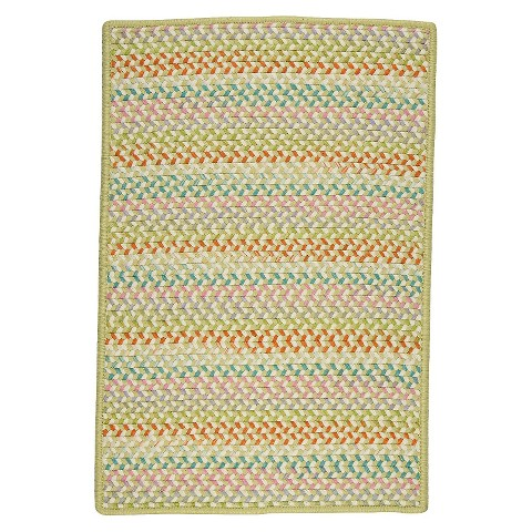Color Craze 5'x7' Braided Area Rug
