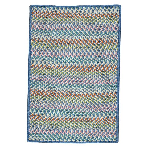 Color Craze 3'x5' Braided Indoor/Outdoor Rug