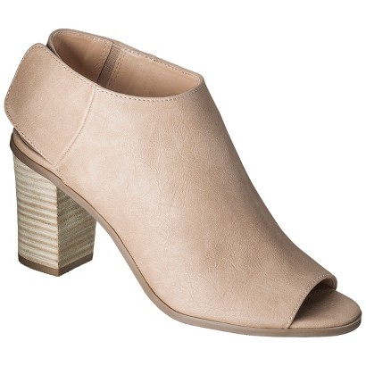 Women's Mossimo® Kacie Peep Toe Bootie