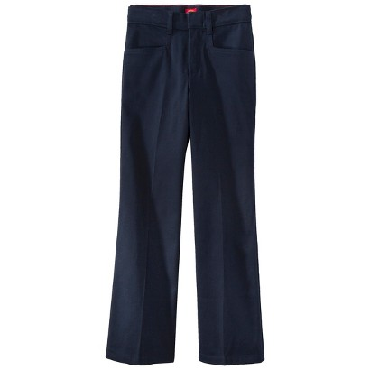 Dickies® Girls' Classic Fit Stretch Flare Bottom Pant