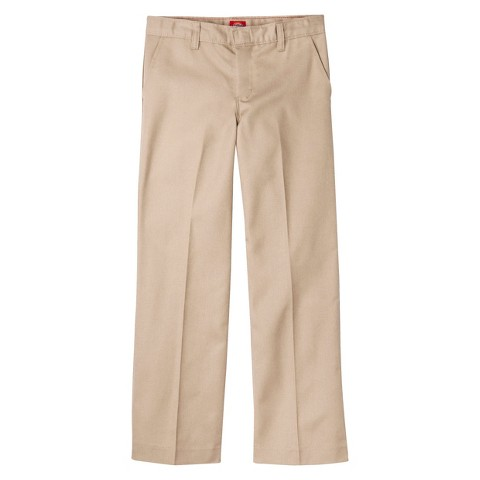 Dickies® Girls' Classic Fit Flat Front Pant