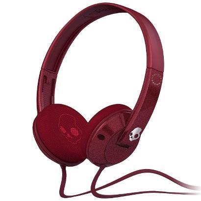Skullcandy Kolohe Uprock Headphones with Mic - Red (SGURFY-105)