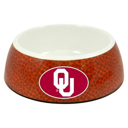 Oklahoma Sooners Classic Football Pet Bowl