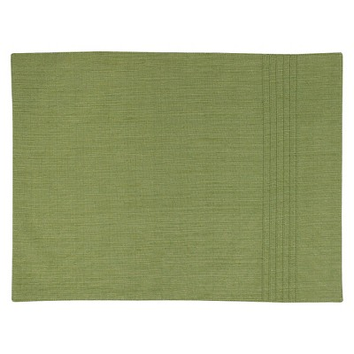 Threshold™ Pintuck Placemat - Green