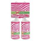 Scotch-Brite Twin-Pack Lint Rollers - Pink Zebra Animal Print