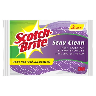 Scotch-Brite™ Clean Rinse Scrub Sponge