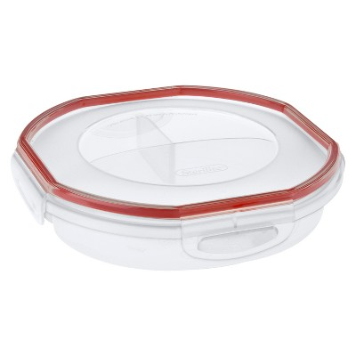 Sterilite Round Divided Food Container 4.8 cups
