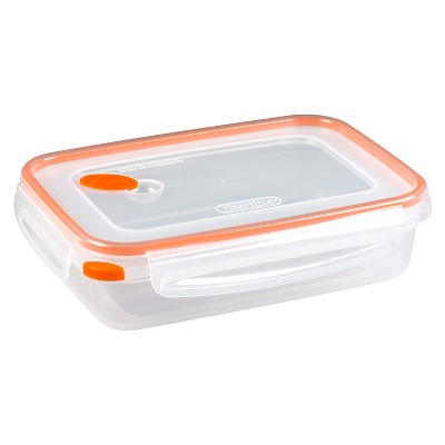 Sterilite Ultra-Seal Rectangular Food Container 5 cup