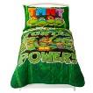 Teenage Mutant Ninja Turtles 4 Piece Bed Set - Green (Toddler)