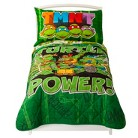 Teenage Mutant Ninja Turtles 4 Piece Bed Set - Green (Toddler)
