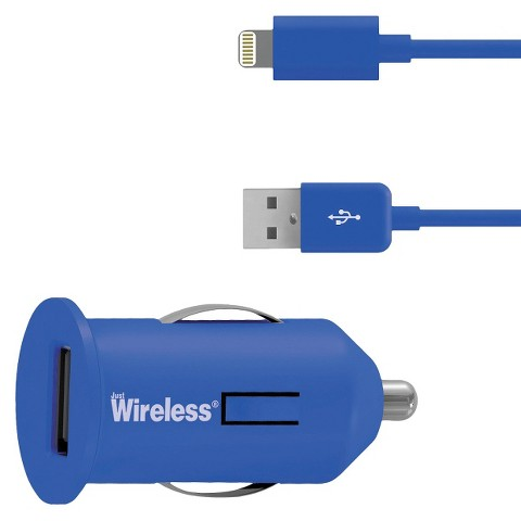Just Wireless USB Mobile Battery Charger for iPhone 5/5S - Blue (03466)