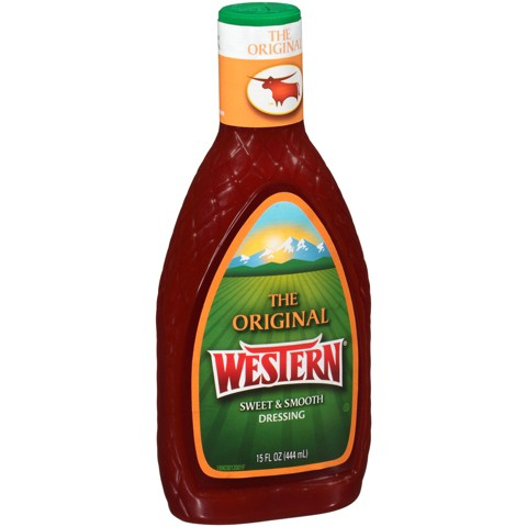 Wishbone French Dressing Western French Dressing 16 oz