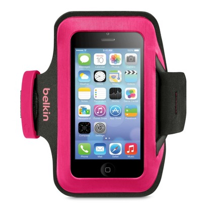 Belkin Classic Slimfit Armband for iPhone 5 - Pink/Black (F8W362btC1)