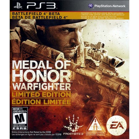 Medal of Honor Warfighter Limited Edition (PlayStation 3)