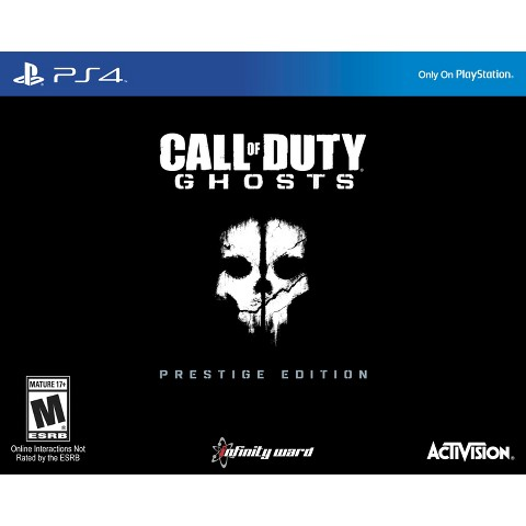 Call of Duty: Ghosts Prestige Edition (PlayStation 4)