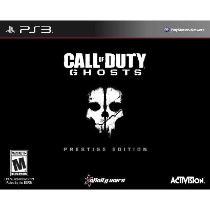 Call of Duty: Ghosts Prestige Edition (PlayStation 3)
