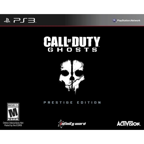 Call of Duty: Ghosts Prestige Edition (PlayStation 3)