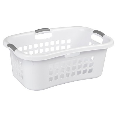 Sterilite® 1.5 Bu. Hip Hold Laundry Basket - White
