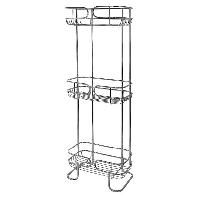 Bath Storage Rack Chrome Interdesign