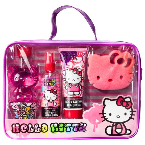 Hello Kitty Bath and Body Set