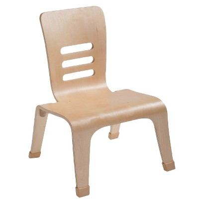 "Kids' Bentwood Teacher Chair 2-pk. - Natural (12"")"
