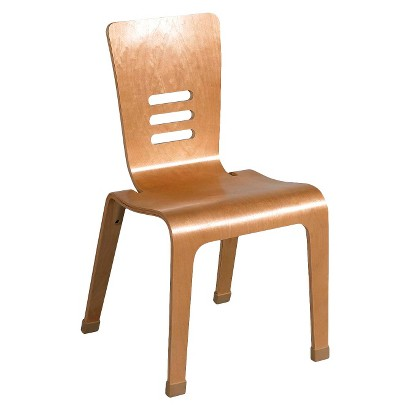 """Kids Bentwood Chair 2-pack - Natural (18"""")"""
