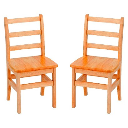 "Kids Bentwood Chair 2-pack - Natural (8"")"