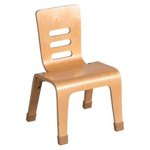 "Kids' Bentwood Chair 2-pk. - Natural (10"")"