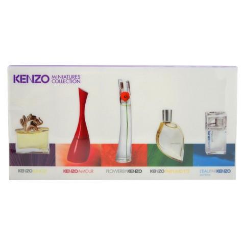 Women's Kenzo Miniatures Collection by Kenzo - 5 Piece Mini Gift Set