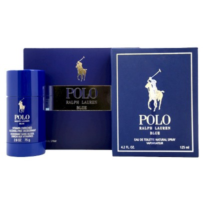 Men's Polo Blue by Ralph Lauren - 2 Piece Gift Set