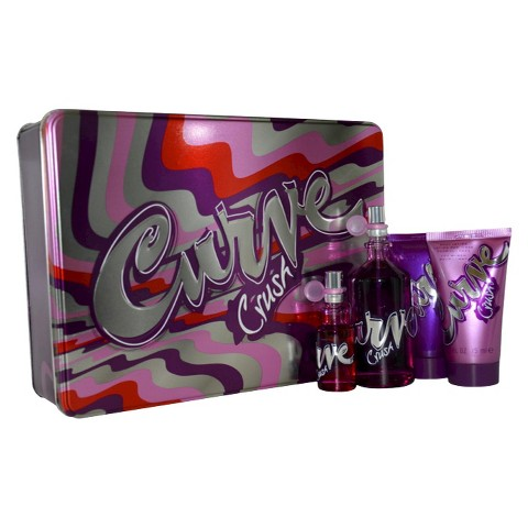 Women's Curve Crush 4 Piece Gift Set