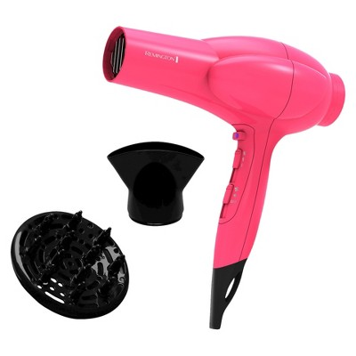 Remington Diamond Shine Volume Hair Dryer - Pink